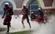 Sep 1, 2018; Troy, AL, USA; Troy Trojans players take the field before the game against the Boise State Broncos at Veterans Memorial Stadium. Mandatory Credit: Christopher Hanewinckel-USA TODAY Sports