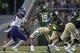 Sep 1, 2018; Waco, TX, USA; Baylor Bears quarterback John McClendon (19) passes against the Abilene Christian Wildcats during the first quarter at McLane Stadium. Mandatory Credit: Jerome Miron-USA TODAY Sports