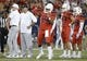 Sep 1, 2018; Tucson, AZ, USA; Arizona Wildcats quarterback Khalil Tate (14) passes the ball during warmups before playing the Brigham Young Cougars at Arizona Stadium. Mandatory Credit: Casey Sapio-USA TODAY Sports