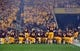 Sep 1, 2018; Tempe, AZ, USA; Arizona State Sun Devils players huddle prior to facing the UTSA Roadrunners the at Sun Devil Stadium. Mandatory Credit: Joe Camporeale-USA TODAY Sports