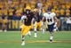 Sep 1, 2018; Tempe, AZ, USA; Arizona State Sun Devils wide receiver N'Keal Harry (1) catches a pass and scores a touchdown against the UTSA Roadrunners during the first half at Sun Devil Stadium. Mandatory Credit: Joe Camporeale-USA TODAY Sports