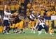 Sep 1, 2018; Tempe, AZ, USA; Arizona State Sun Devils quarterback Manny Wilkins (5) throws a pass against the UTSA Roadrunners during the first half at Sun Devil Stadium. Mandatory Credit: Joe Camporeale-USA TODAY Sports
