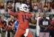 Sep 1, 2018; Tucson, AZ, USA; Arizona Wildcats quarterback Khalil Tate (14) passes the ball against the Brigham Young Cougars during the first quarter at Arizona Stadium. Mandatory Credit: Casey Sapio-USA TODAY Sports