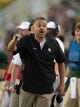 Sep 1, 2018; Waco, TX, USA; Baylor Bears head coach Matt Rhule during the game against the Abilene Christian Wildcats at McLane Stadium. Mandatory Credit: Jerome Miron-USA TODAY Sports