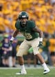 Sep 1, 2018; Waco, TX, USA; Baylor Bears linebacker Jordan Williams (38) in action during the game against the Abilene Christian Wildcats at McLane Stadium. Mandatory Credit: Jerome Miron-USA TODAY Sports