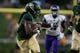 Sep 1, 2018; Waco, TX, USA; Baylor Bears running back JaMycal Hasty (6) in action during the game against the Abilene Christian Wildcats at McLane Stadium. Mandatory Credit: Jerome Miron-USA TODAY Sports