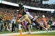 Sep 1, 2018; Waco, TX, USA; Baylor Bears wide receiver Marques Jones (84) in action during the game against the Abilene Christian Wildcats at McLane Stadium. Mandatory Credit: Jerome Miron-USA TODAY Sports