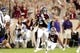 Aug 30, 2018; College Station, TX, USA; Texas A&M Aggies running back Trayveon Williams (5) carries the ball for a touchdown against the Northwestern State Demons during the first quarter at Kyle Field. Mandatory Credit: Erik Williams-USA TODAY Sports