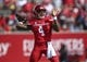 Sep 8, 2018; Houston, TX, USA; Houston Cougars quarterback D'Eriq King (4) attempts a pass during the first quarter against the Arizona Wildcats at TDECU Stadium. Mandatory Credit: Troy Taormina-USA TODAY Sports