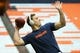 Sep 8, 2018; Syracuse, NY, USA; Syracuse Orange quarterback Eric Dungey (2) warms up prior to a game against the Wagner Seahawks at the Carrier Dome. Mandatory Credit: Rich Barnes-USA TODAY Sports