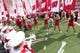 Sep 8, 2018; Madison, WI, USA; The Wisconsin Badgers take to the field prior to a game against the New Mexico Lobos at Camp Randall Stadium. Mandatory Credit: Jeff Hanisch-USA TODAY Sports