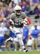 Sep 8, 2018; Evanston, IL, USA; Northwestern Wildcats running back Jeremy Larkin (28) runs with the ball in the first half against the Duke Blue Devils at Ryan Field. Mandatory Credit: Quinn Harris-USA TODAY Sports