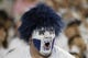 Sep 8, 2018; Provo, UT, USA; A Brigham Young Cougars fan shows his spirit against the California Golden Bears at LaVell Edwards Stadium. Mandatory Credit: Jeff Swinger-USA TODAY Sports