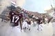 Sep 8, 2018; College Station, TX, USA; Texas A&M Aggies takes the field at the start of their game against the Clemson Tigers at Kyle Field. Mandatory Credit: John Glaser-USA TODAY Sports