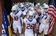 Sep 1, 2018; Troy, AL, USA; Boise State Broncos players wait to take the field before the game against the Troy Trojans at Veterans Memorial Stadium. Mandatory Credit: Christopher Hanewinckel-USA TODAY Sports