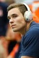 Sep 8, 2018; Syracuse, NY, USA; Syracuse Orange quarterback Eric Dungey (2) looks on while sitting on the bench prior to the game against the Wagner Seahawks at the Carrier Dome. Mandatory Credit: Rich Barnes-USA TODAY Sports