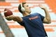 Sep 8, 2018; Syracuse, NY, USA; Syracuse Orange quarterback Eric Dungey (2) warms up prior to the game against the Wagner Seahawks at the Carrier Dome. Mandatory Credit: Rich Barnes-USA TODAY Sports