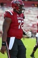Sep 8, 2018; Columbia, SC, USA; South Carolina Gamecocks offensive lineman Donell Stanley (72) during the first half against the Georgia Bulldogs at Williams-Brice Stadium. Mandatory Credit: Jim Dedmon-USA TODAY Sports