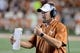 Sep 15, 2018; Austin, TX, USA; Texas Longhorns head coach Tom Herman during the first half against the Southern California Trojans at Darrell K Royal-Texas Memorial Stadium. Mandatory Credit: Kirby Lee-USA TODAY Sports