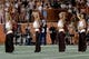 Sep 15, 2018; Austin, TX, USA; Texas Longhorns Cheerleaders perform during the second half against the Southern California Trojans at Darrell K Royal-Texas Memorial Stadium. Mandatory Credit: Kirby Lee-USA TODAY Sports
