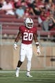 August 31, 2018; Stanford, CA, USA; Stanford Cardinal running back Bryce Love (20) during the first quarter against the San Diego State Aztecs at Stanford Stadium. Mandatory Credit: Kyle Terada-USA TODAY Sports