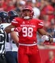 Sep 8, 2018; Houston, TX, USA; Houston Cougars defensive lineman Payton Turner (98) in action during the game against the Arizona Wildcats at TDECU Stadium. Mandatory Credit: Troy Taormina-USA TODAY Sports