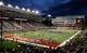 Sep 8, 2018; Pullman, WA, USA; San Jose State Spartans and Washington State Cougars warm up before. Football game at Martin Stadium. Mandatory Credit: James Snook-USA TODAY Sports