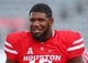 Sep 8, 2018; Houston, TX, USA; Houston Cougars defensive tackle Ed Oliver (10) before a game against the Arizona Wildcats at TDECU Stadium. Mandatory Credit: Troy Taormina-USA TODAY Sports