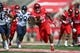 Sep 8, 2018; Houston, TX, USA; Houston Cougars running back Patrick Carr (21) in action during the game against the Arizona Wildcats at TDECU Stadium. Mandatory Credit: Troy Taormina-USA TODAY Sports
