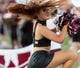 Sep 15, 2018; Starkville, MS, USA; The Mississippi State Bulldogs dance team performs before the first half at Davis Wade Stadium. Mandatory Credit: Vasha Hunt-USA TODAY Sports