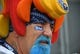 Sep 16, 2018; Nashville, TN, USA; A Tennessee Titans fan before the game against the Houston Texans at Nissan Stadium. Mandatory Credit: Christopher Hanewinckel-USA TODAY Sports