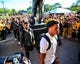 Sep 22, 2018; Iowa City, IA, USA; The Iowa Hawkeyes enter Kinnick Stadium before the game against the Wisconsin Badgers. Mandatory Credit: Jeffrey Becker-USA TODAY Sports