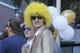 Oct 13, 2018; Atlanta, GA, USA; Georgia Tech Yellow Jackets fan before a game against the Duke Blue Devils at Bobby Dodd Stadium. Mandatory Credit: Brett Davis-USA TODAY Sports