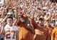 Oct 13, 2018; Austin, TX, USA; Texas Longhorns fans cheer before a game against the Baylor Bears at Darrell K Royal-Texas Memorial Stadium. Mandatory Credit: John Gutierrez-USA TODAY Sports