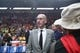 Oct 18, 2018; Portland, OR, USA;  NBA commissioner Adam Silver enters Moda Center to watch Los Angeles Lakers play Portland Trail Blazers. Mandatory Credit: Jaime Valdez-USA TODAY Sports