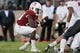 Oct 27, 2018; Stanford, CA, USA; Stanford Cardinal running back Trevor Speights (23) runs against the Washington State Cougars during the second quarter at Stanford Stadium. Mandatory Credit: Stan Szeto-USA TODAY Sports