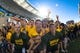 Nov 3, 2018; Waco, TX, USA; The Baylor Bears students take the field before the game against the Oklahoma State Cowboys at McLane Stadium. Mandatory Credit: Jerome Miron-USA TODAY Sports