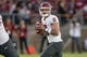 Oct 27, 2018; Stanford, CA, USA; Washington State Cougars quarterback Gardner Minshew (16) looks to throw the football against the Stanford Cardinal during the third quarter at Stanford Stadium. Mandatory Credit: Stan Szeto-USA TODAY Sports