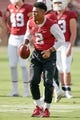 Oct 27, 2018; Stanford, CA, USA; Stanford Cardinal safety Brandon Simmons (2) warms up before the game against the Washington State Cougars at Stanford Stadium. Mandatory Credit: Stan Szeto-USA TODAY Sports