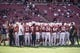 Oct 27, 2018; Stanford, CA, USA; Stanford Cardinal gather together before the game against the Washington State Cougars at Stanford Stadium. Mandatory Credit: Stan Szeto-USA TODAY Sports
