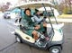 Nov 10, 2018; East Lansing, MI, USA;   Michigan State Spartans injured wide receiver Felton Davis III rides over to Spartan Stadium prior to a game against the Ohio State Buckeyes at Spartan Stadium. Mandatory Credit: Mike Carter-USA TODAY Sports