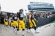 Nov 10, 2018; Iowa City, IA, USA; The Iowa Hawkeyes enter the field before a game against the Northwestern Wildcats at Kinnick Stadium. Mandatory Credit: Jeffrey Becker-USA TODAY Sports