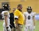 Nov 9, 2018; Cedar Falls, IA, USA; Southeast Polk Rams Defensive Coordinator talks to his players during their game against the Cedar Falls Tigers at the UNI Dome. The Rams lost to the Tigers 26-12.  Ncaa Football Texas Tech At Iowa State