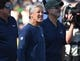 Nov 11, 2018; Los Angeles, CA, USA; Seattle Seahawks head coach Pete Carroll reacts on the field before a game against the Los Angeles Rams at the Memorial Coliseum. Mandatory Credit: Jayne Kamin-Oncea-USA TODAY Sports