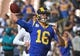 Nov 11, 2018; Los Angeles, CA, USA; Los Angeles Rams quarterback Jared Goff (16) warms up before the game against the Seattle Seahawks at the Memorial Coliseum. Mandatory Credit: Jayne Kamin-Oncea-USA TODAY Sports