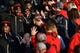 Nov 24, 2018; Louisville, KY, USA; Fans greet the Louisville Cardinals players during the Card March before facing off against the Kentucky Wildcats at Cardinal Stadium. Mandatory Credit: Jamie Rhodes-USA TODAY Sports