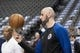 Dec 2, 2018; Dallas, TX, USA; LA Clippers center Marcin Gortat (13) warms up before the game between the Dallas Mavericks and the LA Clippers at the American Airlines Center. Mandatory Credit: Jerome Miron-USA TODAY Sports