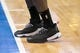 Dec 2, 2018; Dallas, TX, USA; A view of the shoes of LA Clippers guard Lou Williams (23) as he warms up before the game between the Dallas Mavericks and the LA Clippers at the American Airlines Center. Mandatory Credit: Jerome Miron-USA TODAY Sports