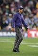 Oct 6, 2018; Pasadena, CA, USA; Washington Huskies head coach Chris Petersen reacts in the second quarter against the UCLA Bruins at Rose Bowl. Mandatory Credit: Kirby Lee-USA TODAY Sports