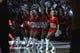 Dec 8, 2018; Portland, OR, USA;  Blazer Dancers perform before Portland Trail Blazers take on Minnesota Timberwolves at Moda Center. Mandatory Credit: Jaime Valdez-USA TODAY Sports